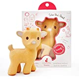 Sola the Goat Teething Toy - 100% Pure Natural Rubber, BPA, PVC, phthalates Free