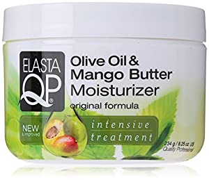 Elasta QP Moisturizer, Olive Oil/Mango Butter, 8.25 Ounce