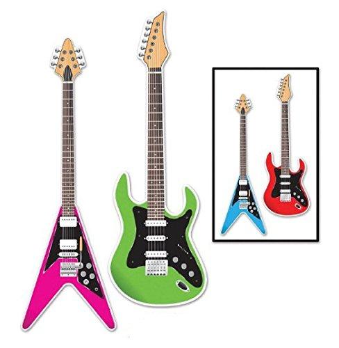 Guitar Cutouts, 3-feet Pkg/3