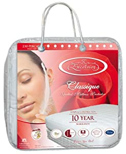 Classique Quilted Mattress Protector - Twin