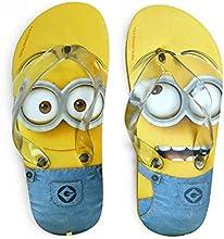 Minions - Flip flops, talla 36-37, color amarillo (United Labels 812418)