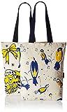 #3: Kanvas Katha Women's Combo Tote Bag (Pack of 2) (Off-White) (KKCAMZOCT013-KKCAMZOCT014)
