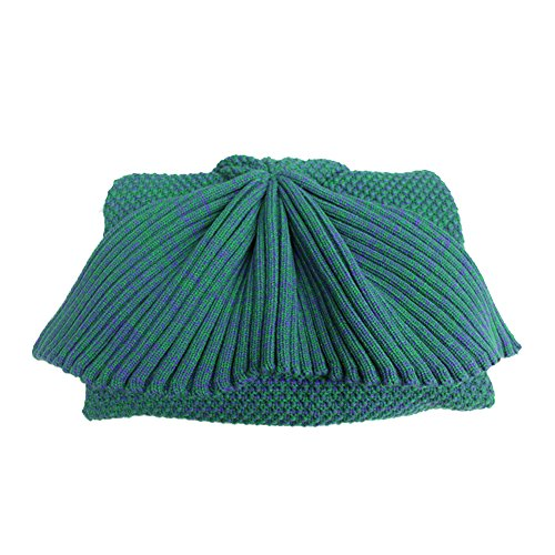 Mermaid Tail Blanket Super Bulky Teen/Adult,Perfect Cute Little Mermaid Gift(Forest Green)