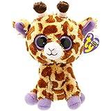 Ty - Ty36011 - Peluche - Beanie Boos - Moyen - Safari La Girafe - 15 Cm
