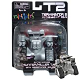 Minimates Vehicles Wave 1 - Terminator 2 Judgment Day MiniMates Battle Damaged Hunter/Killer Tank Vehicle with Resistance Soldier