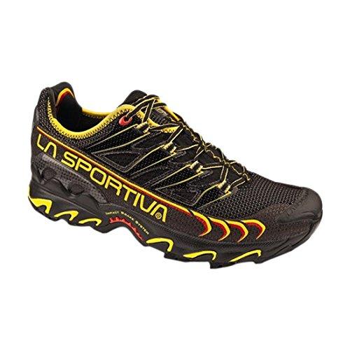 La Sportiva da uomo Low-Top Sneaker, Uomo, Black / Yellow, 44 UE