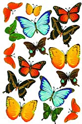 Martha Stewart Crafts Stickers, Butterflies