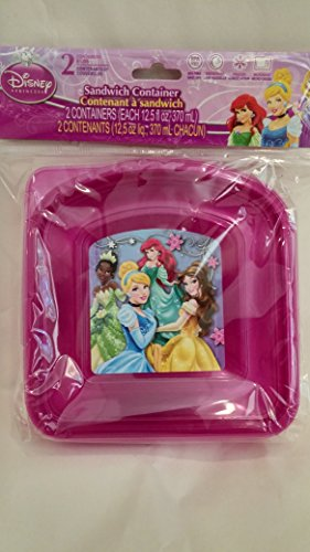 Disney Princess Sandwich Container - 1