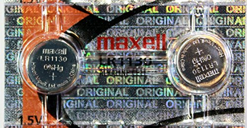 2PC Maxell LR1130 189 389 Alkaline Coin Cell Battery (189 Watch Battery compare prices)
