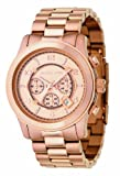 Michael Kors Men's Watch MK8096 With Rose Gold Dial And Rose Gold Plated Bracelet