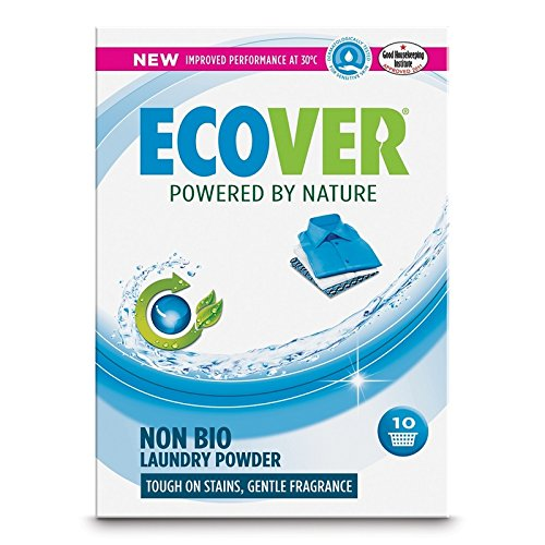 (4 PACK) - Ecover Non Bio Washing Powder - Fragrance Free | 750g | 4 PACK - SUPER SAVER - SAVE MONEY