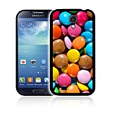 'CHOCOLATE SMARTIES' Exclusive Fitted Hard Polycarbonate Phone Case, Skin, Cover for SAMSUNG GALAXY S4 / SIV (GT-i9500) - Shock Resistant