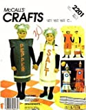 McCall's 2201 Sewing Pattern Adult Salt and Pepper Shaker Costumes Size Large (Bust/Chest 40-42) Sewing Pattern