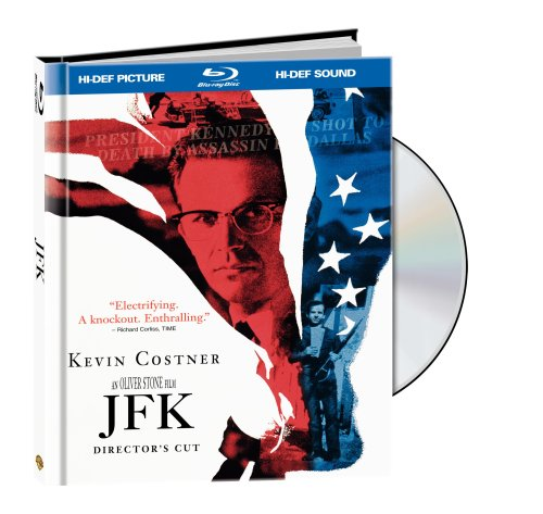 Cover art for  JFK: Director's Cut (Blu-ray Book Packaging)