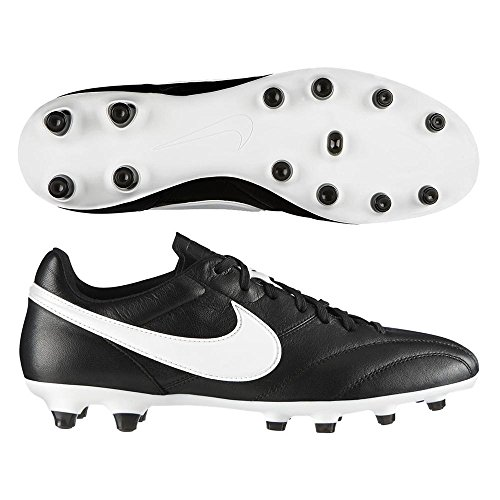 Nike Premier Fg - Scarpe da Calcio Uomo, Nero (Black/Summit white-orange Blazer), 43 EU