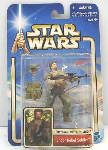 Star Wars EP2 AOTC Endor Rebel Soldier with Beard