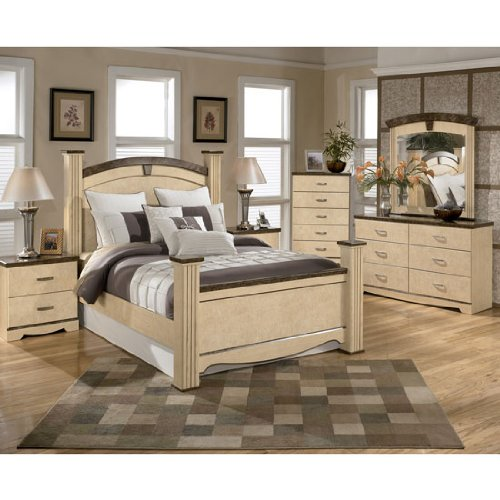 Olivia Bay Poster Bedroom Set Queen By Ashley Furniture