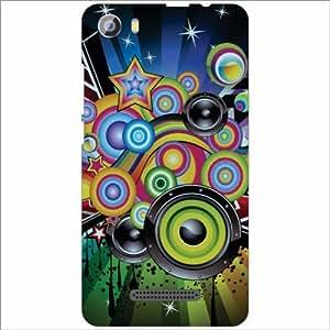 Design Worlds - Micromax Spark2 Q334 Designer Back Cover Case - Multicolor ...