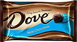 Dove Milk Chocolate, Silky Smooth  Promises, 9.5-Ounce Packages (Pack of 4)