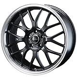 【スバル BRZ(ZC6)2012~】 ホイール:BLEST ユーロスポーツ タイプ805_セミグロスブラック 7.0-18 5/100 タイヤ:FALKEN ZIEX ZE914F 225/40R18 (18インチ アルミホイールセット)