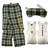 SMALL Women's Green Bay Packers Sleepwear Set (Ladies Pajama/PJ Set) at Amazon.com