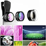 Mpow MLens V1 Professional Clip-on Lens Kit 180 Degree Fisheye + 0.36x Wide Angle Lens for iPhone Samsung etc