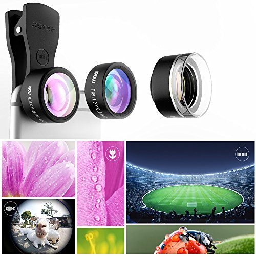 Mpow-Mlens-3-in-1-Clip-On-Lens-Supreme-Fisheye067X-Wide-Angle-Lens-Kit-for-iPhone-7-Android-Phones