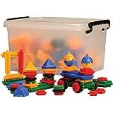 CP Toys Vinyl Bristle Blocks in Storage Tub / 160 pcs.