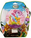 Disney Fairies TinkerBell Purple Night Light