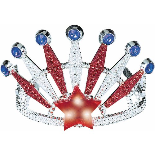 Patriotic Light Up Tiara