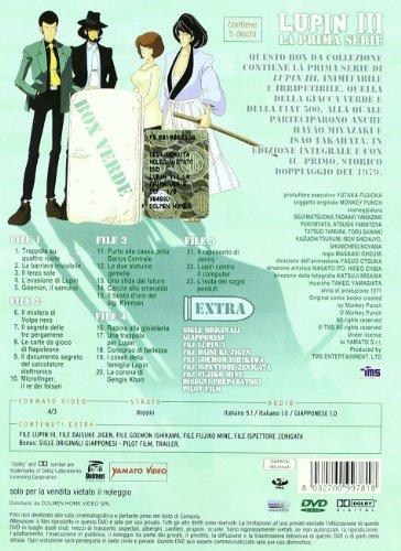 Lupin III - Serie 01 (Eps 01-23) (5 Dvd)
