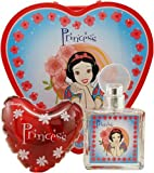 Snow White By Disney For Women. Set-edt Spray 2.5 oz & Buble Bath 6.8 oz & Tin Lunch Can