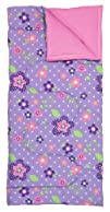 Three Cheers for Girls Little Cheers Purple Flower Dotted