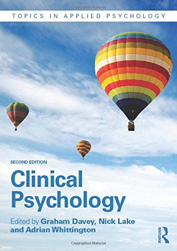 Clinical Psychology (Topics in Applied Psychology)From Routledge
