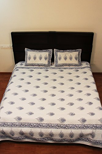 Queen Size Bedspread Dimensions 6338 front