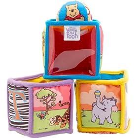 Disney Pooh Peek-A-Boo Soft Blocks