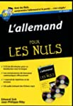 L'allemand pour les nuls : Kit audio...