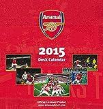 Official Arsenal 2015 Desk Easel Calendar (Calendars 2015)