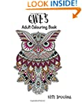 Owls Adult Colouring Book: A Calming...