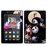 Nightmare Design Protective Decal Skin Sticker for Amazon Kindle Fire HD 7 inch 2014 (Matte Satin)