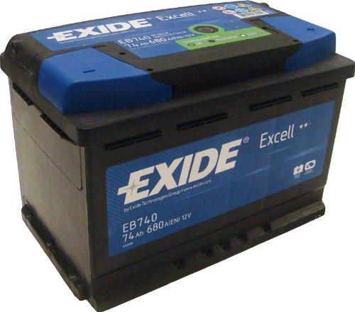 Exide Excell EB740 74Ah Autobatterie wartungsfrei