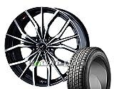 [235/55R20]GOODYEAR / ICE NAVI SUV スタッドレス [2/-][Weds / LEONIS LV (PBMC) 20インチ] スタッドレス&ホイール4本セット ムラーノ(Z51系)
