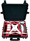 Professional Carry Case from MC-Cases fits for DJI Phantom 2 Vision and Vision+ - Space for 6 Batteries