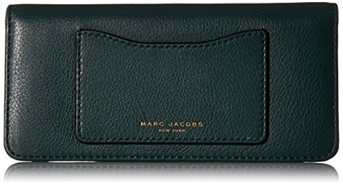 Marc-Jacobs-Recruit-Open-Face-Wallet-Checkbook-Wallet-Green-Jewel