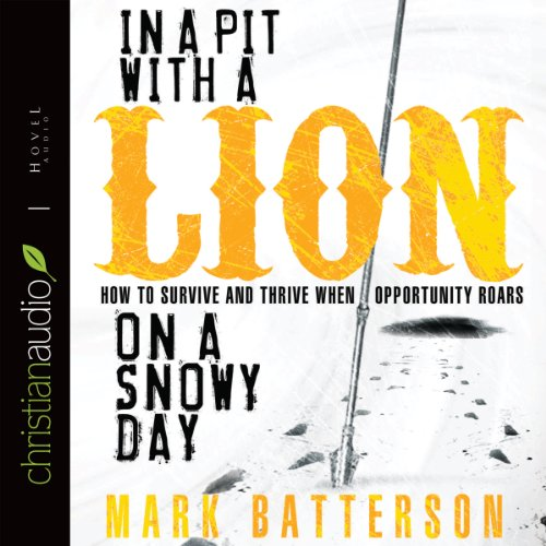 Download In a Pit with a Lion on a Snowy Day: How to Survive and Thrive When Opportunity Roars