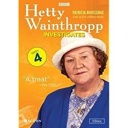 Hetty Wainthropp Investigates, Series 4 (reissue)