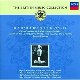 Richard Rodney Bennett: Piano Concerto No.1; Concerto for Stan Getz; Film Music, etc.