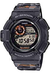 Casio G-Shock Men in Camouflage Digital Dial Resin Solar Men's Watch GW-9300CM-1