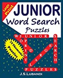 Large Print JUNIOR Word Search Puzzles (Volume 1)