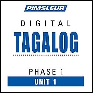Tagalog Phase 1, Unit 01 Audiobook